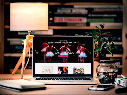 WEB Escuela de Danza Pilar Dominguez