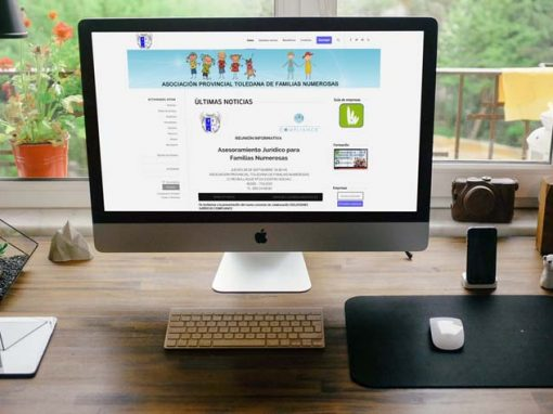WEB Asociación Toledana de Familias Numerosas